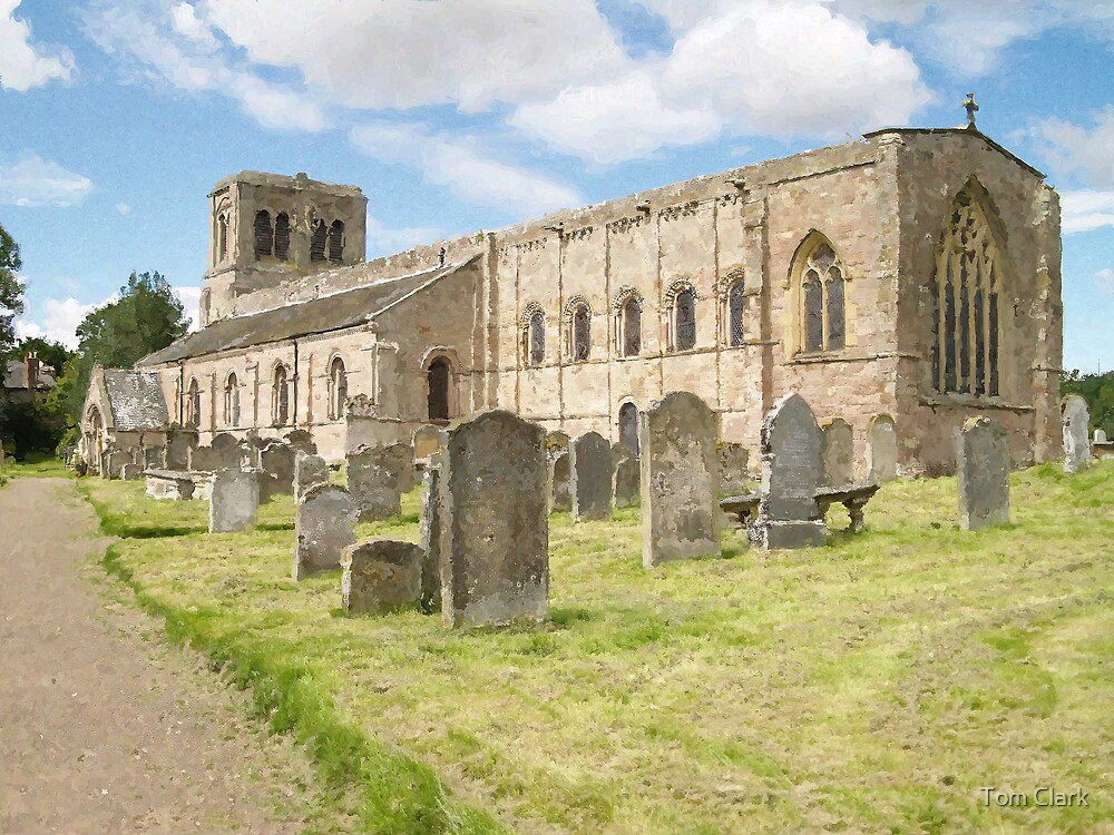 St Cuthbert's Church. by Tom Clark