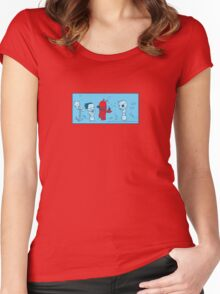 Lobster Mobster Women's Fitted Scoop T-Shirt