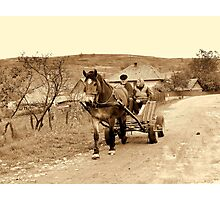 OLD TIME Photographic Print