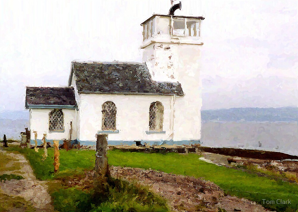 Old Church, Dunoon. by Tom Clark