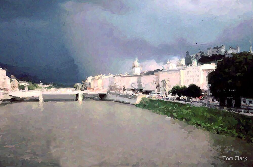 Storm Over Heidelberg. by Tom Clark