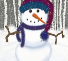 Puffy The Snowman by OneArtsyMomma