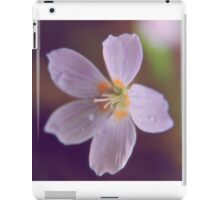 Say It With Flowers I iPad Case/Skin