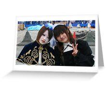 Harajuku Girls Greeting Card