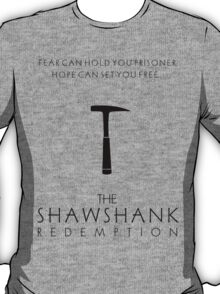 Minimalist Movie Poster - The Shawshank Redemption  T-Shirt