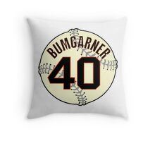 Madison Bumgarner Baseball Design Throw Pillow