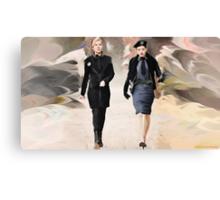 Amanda and Berlin Take Charge Canvas Print