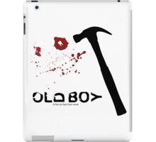 Oldboy Minimalist Poster - Hammer & Tooth iPad Case/Skin