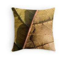 autumn leaf Throw Pillow