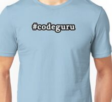 Code Guru - Hashtag - Black & White Unisex T-Shirt