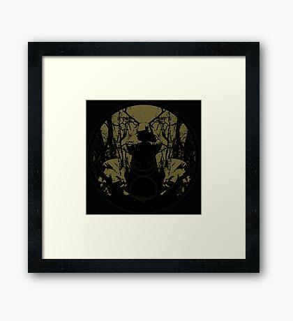 the Pagan Horned God - Cernunnos Framed Print