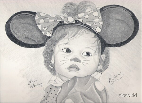 My minnie mouse by ciscokid