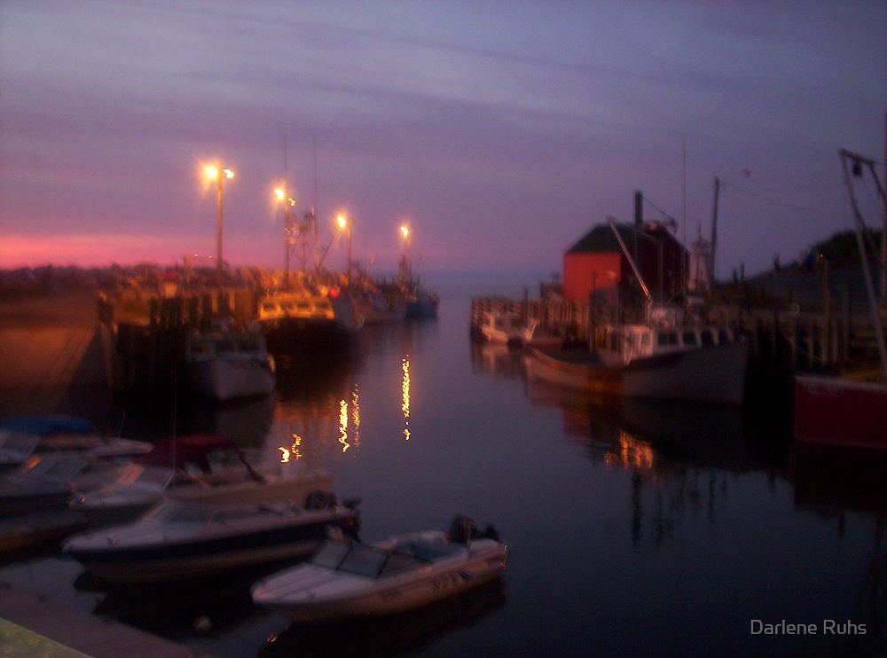 Shimmers at Night by Darlene Ruhs