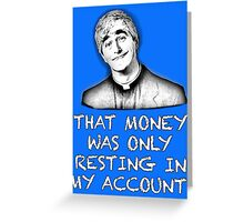 FATHER TED - MONEY Greeting Card