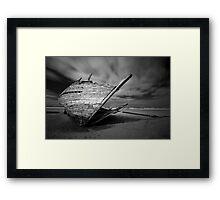 Bunbeg Shipwreck Framed Print