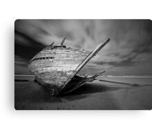 Bunbeg Shipwreck Metal Print