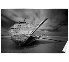 Bunbeg Shipwreck Poster