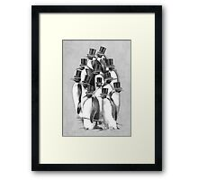 A Gathering of Gentlemen Framed Print