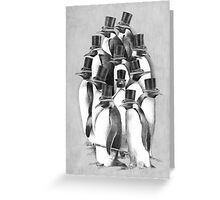 A Gathering of Gentlemen Greeting Card