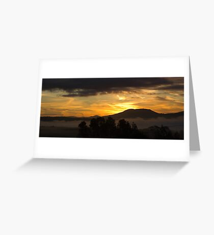 Sunrise - Keeper Hill, County Tipperary Greeting Card