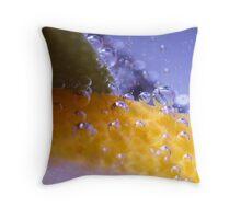 Lemon Lime 1 Throw Pillow