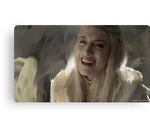 Stahma Tarr Laughing Defiance Canvas Print