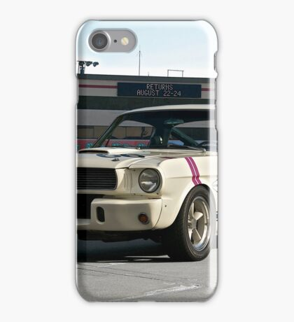 1966 Shelby Mustang G.T. 350 II iPhone Case/Skin