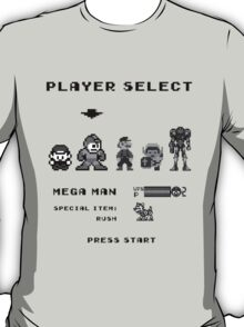 Classic game boy player select T-Shirt