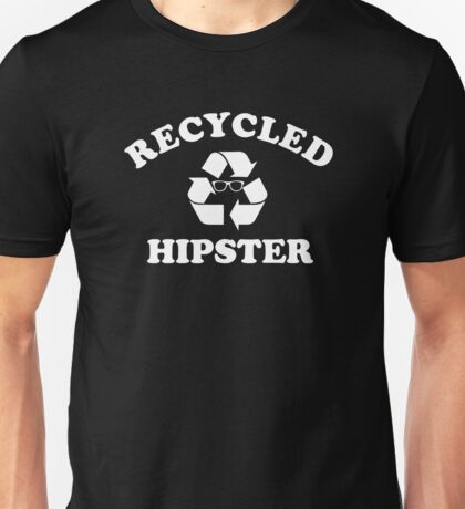 recycled hipster Unisex T-Shirt