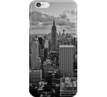 Empire State Building B+W iPhone Case/Skin