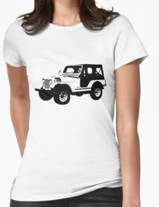 Teen Wolf - Stiles' Jeep Womens Fitted T-Shirt