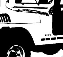 Teen Wolf - Stiles' Jeep Sticker