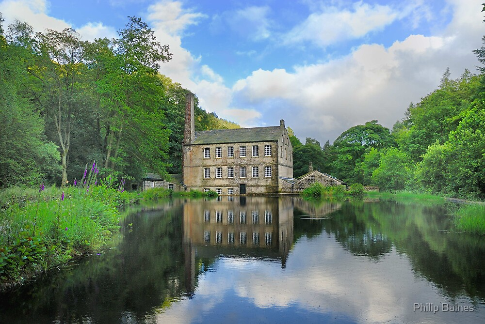 Gibson Mill, Hardcastle Crags by Philip Baines
