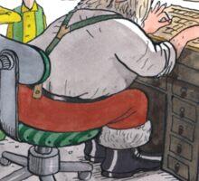 Wikileaks Christmas Sticker