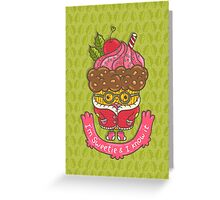 Christmas cupcake  Greeting Card