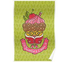 Christmas cupcake  Poster