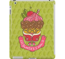 Christmas cupcake  iPad Case/Skin
