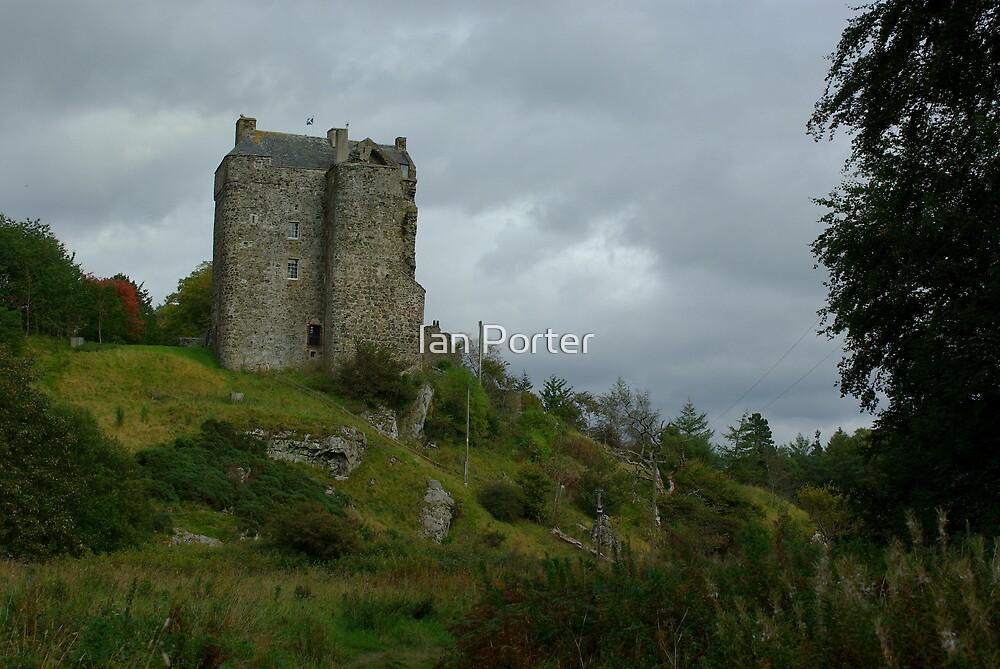 Neidpath Castle by Ian Porter