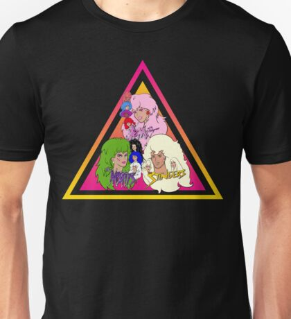 Jem and the Holograms + The Misfits meet The Stingers! Unisex T-Shirt