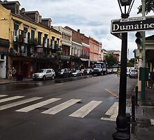 Rain Soaked Dumaine - New Orleans, LA by Daniel  Rarela
