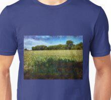 Green wheat field Unisex T-Shirt
