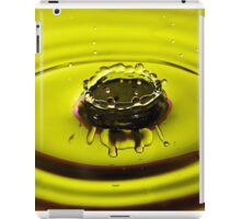 Yellow Crown iPad Case/Skin