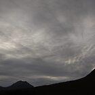 Grey sky at night by kelek