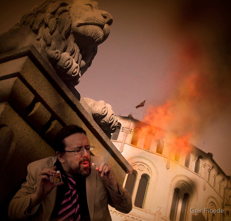 Bring down the Government by Geir Floede