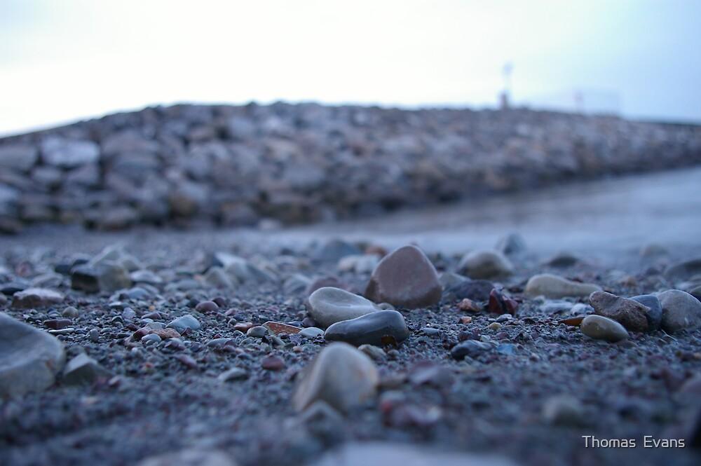 Beach Pebbles by Thomas  Evans