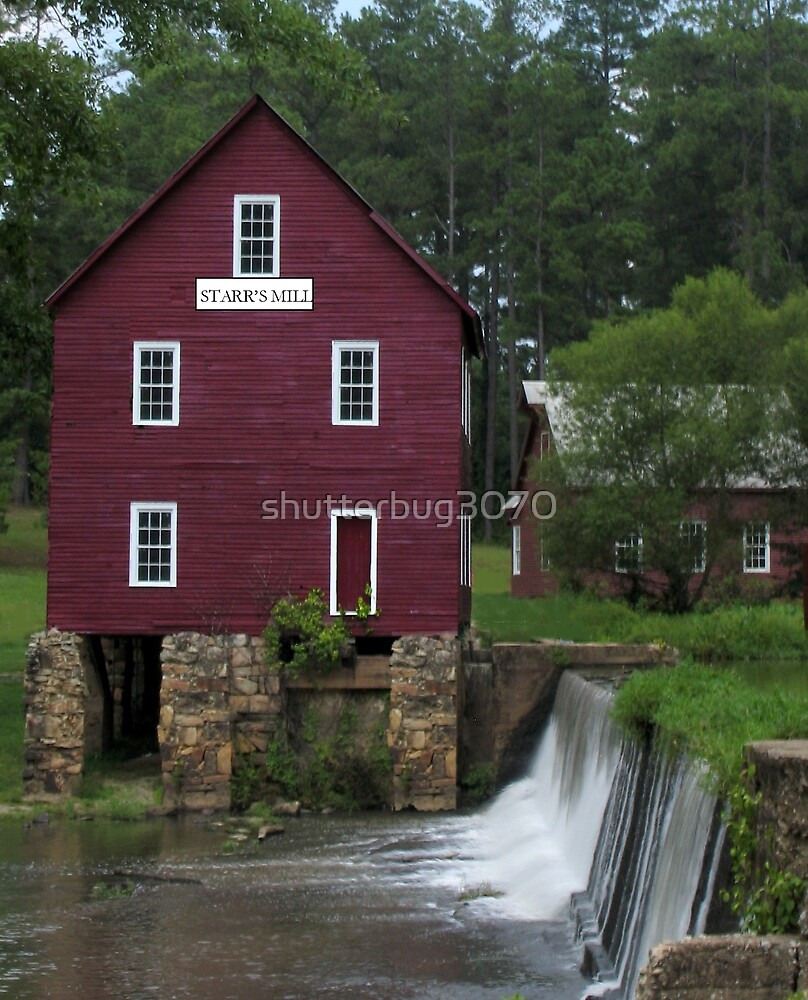 Starr's Mill, Georgia by shutterbug3070