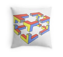 Expanded Cube ??? Throw Pillow