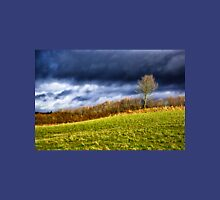 Country landscape with dramatic cloudscape Unisex T-Shirt