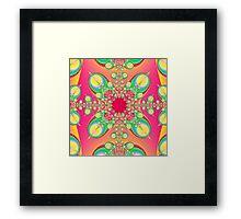 Abstract Fractal Art Framed Print