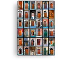 Doors of Florence and Siena Canvas Print